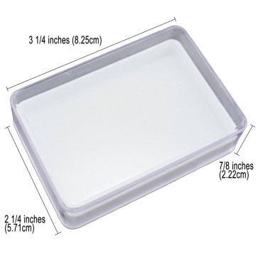 Rosary Box Plastic Clear Top