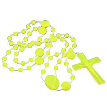 Lady of Lourdes Plastic Rosary
