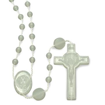 Glow in the Dark Plastic Beads Rosary