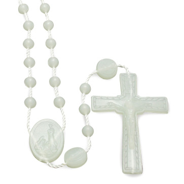 Blue Plastic Rosaries