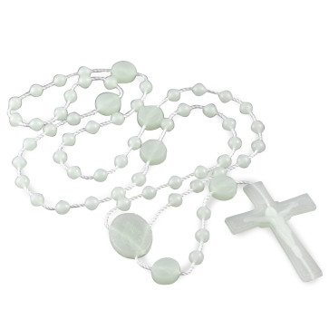 Miraculous Medal Plastic Rosary