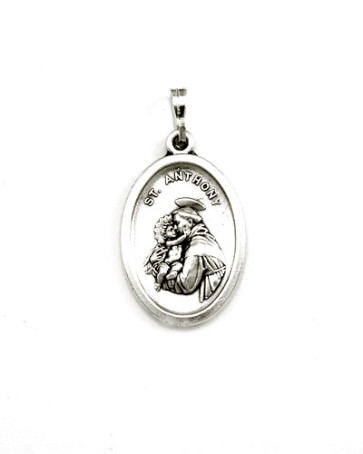 St. Francis - St. Anthony Medal - Front