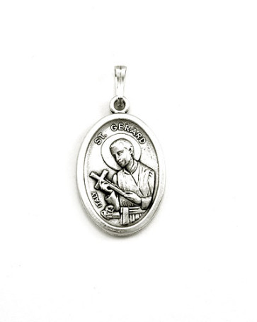 Perpetual Help - St. Gerard Medal - Front