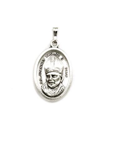 Pope John Paul II - Lady of Czestochowa Medal - Front