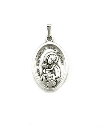 Our Lady of Grace Medal - Back