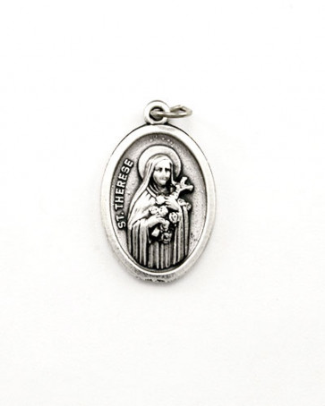 St. Therese Catholic Medal