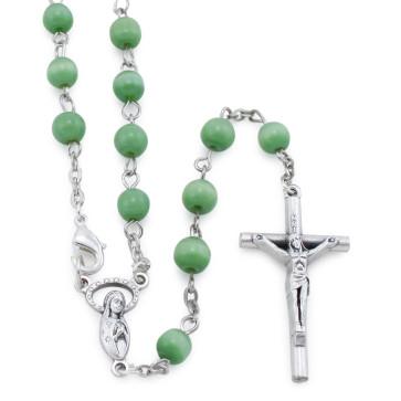 Green Cat Eye Beads Rosary