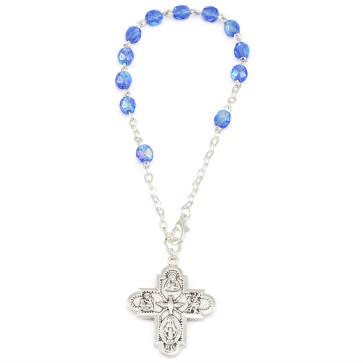 Catholic Crystal Beads Bracelet