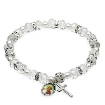 St John Paul II Rosary Bracelet