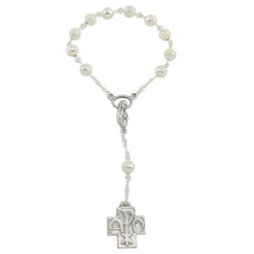 Polished Finish One Decade Catholic Rosary