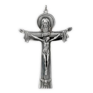 Catholic Hanging Trinity Crucifix