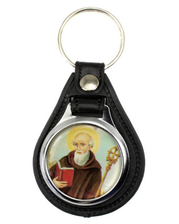 Saint Benedict Keychain