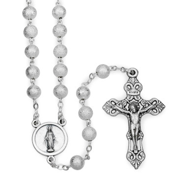 Diamond Dust Beads Rosary