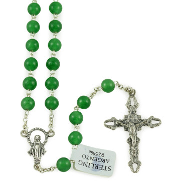 Rosary with Aventurina Beads