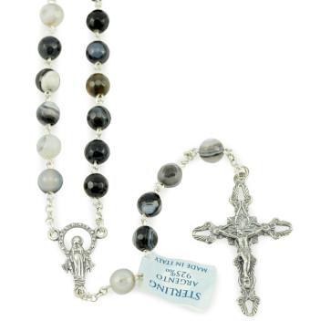 Onyx Beads Rosary