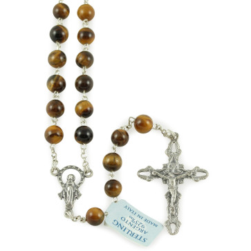 Tiger Eye Beads Rosary