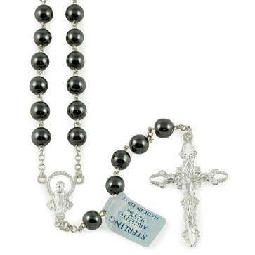 Rosary Hematite Beads