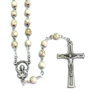 Rosary Stone beads women teens