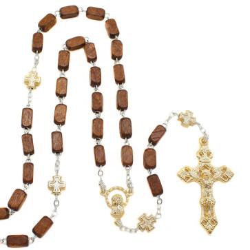 Rectangle Beads Catholic Rosary