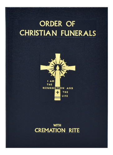 Catholic Christian Funerals book  Cremation Rite