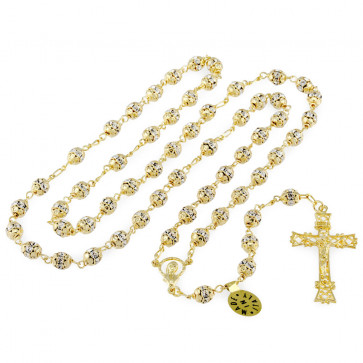 Gold Beads Rosary