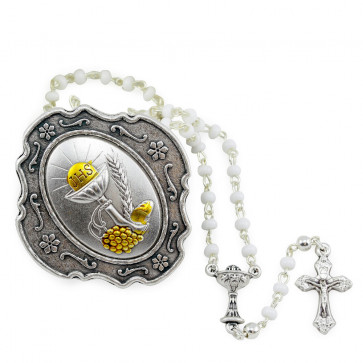 Catholic First Communion Rosary Set