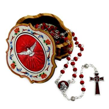 Confirmation Catholic Rosary Gift Set