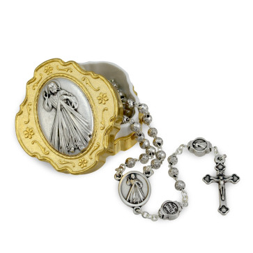 Miraculous Medal Catholic Rosary Gift Set