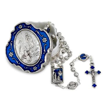 Miraculous Medal Catholic Rosary Gift Set