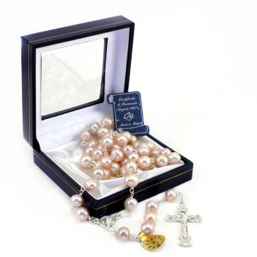 Rose River Pearl Catholic Rosary