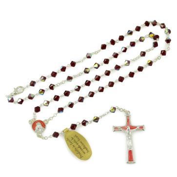 Rosary with Swarovski Crystal Beads