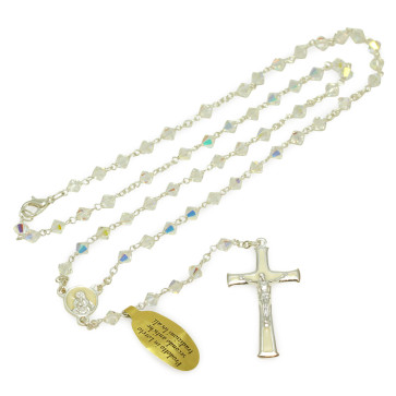 Swarovski Crystal Beads Rosaries with Clasp