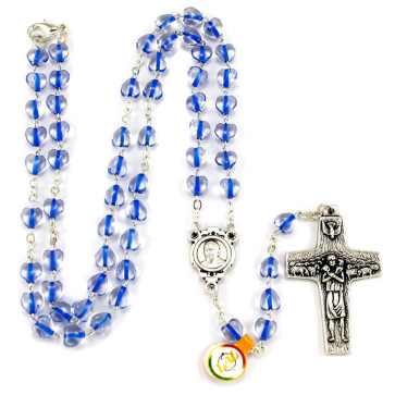Pope Francis heart beds rosary