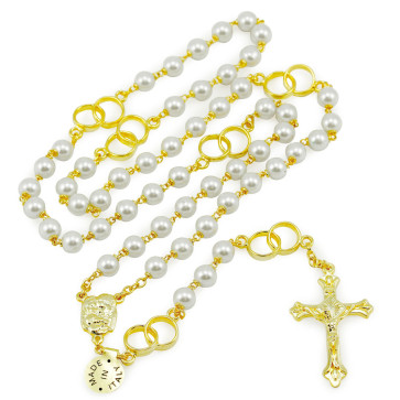 Gold Wedding Rosary
