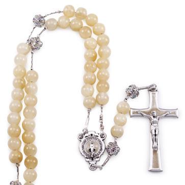 Jade Stones Beads Rosary