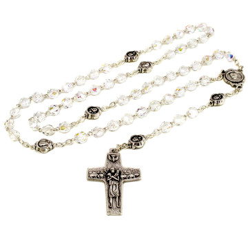 Crystal Clear Beads Rosary