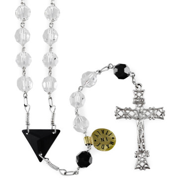 Catholic Rosary with Sterling Silver Beads