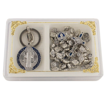 St. Benedict Rosary Gift Set