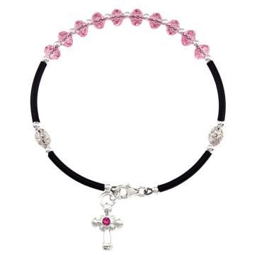 Swarovski Crystal Beads Rosary Bracelet