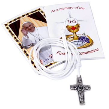 Pope Francis by Vedele Cross Pectoral Pendant