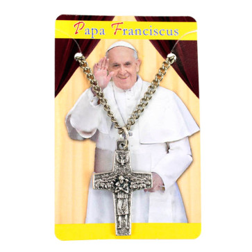 Pope Francis Cross Necklace