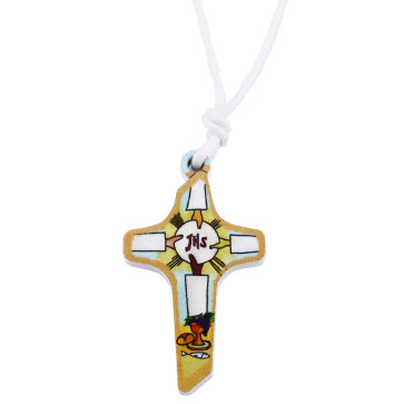 Catholic First Communion Cross Pendant