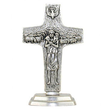 Pope Francis Standing Cross