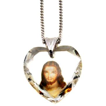 Swarovski Jesus Heart Pendant
