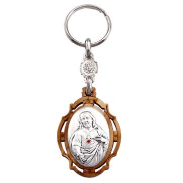 Sacred Heart of Jesus Keychain
