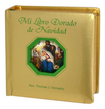 Christmas story, Catholic, Christian Mi Libro Dorado De Navidad Spanish book