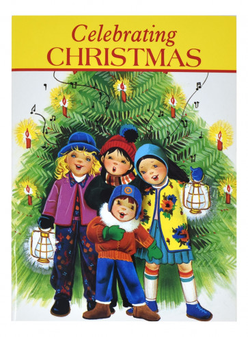 Celebrating Christmas Children's  Paperback Book Catholic christian