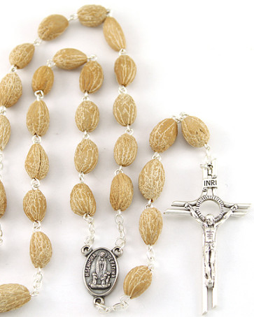 Olive Seed Beads Rosary