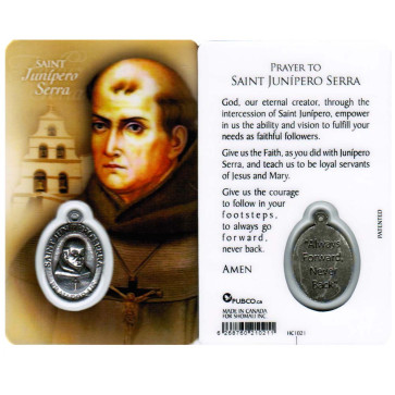 Prayer Card Saint Junipero Serra
