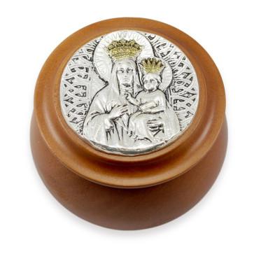 Our Lady of Czestochowa Rosary Box